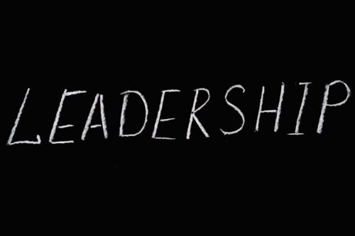 the word leadership written out